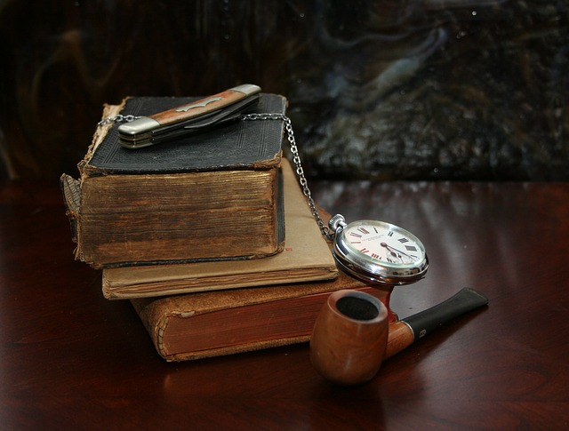 książki i fajka