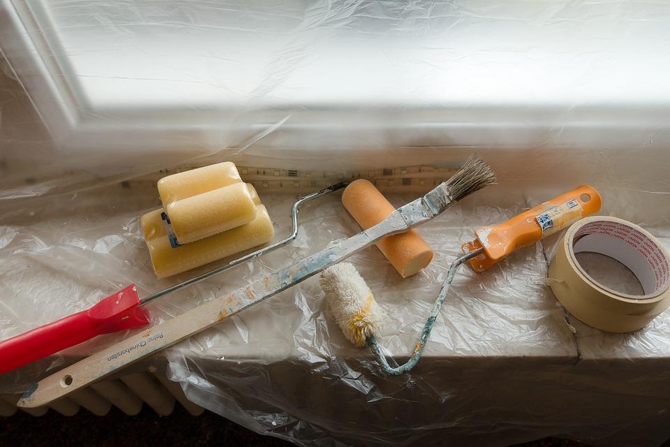 Malowanie i glazura a zabezpieczanie pomieszczeń