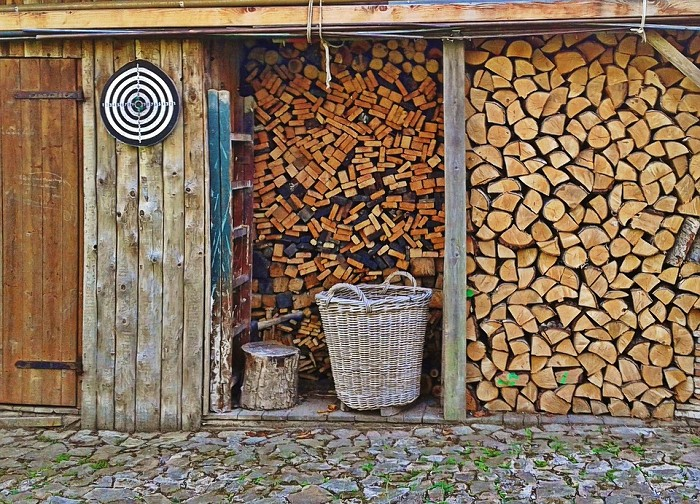 wiata garażowa drewniana
